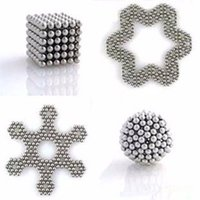 ball brain - Puzzle Toys x mm Silver Magnet Magnetic DIY Balls Magic Cubes for Kids Brain Teaser Educational Toy