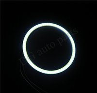 Wholesale 50pcs COB Angel Eyes LED Chip Car Light Moto Eye Lights Waterproof Auto Headlight Car LED Lighting White