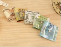 Wholesale Hot Sell New Door Stopper Money Currency Novelty Funny Gag Jam USD Dollar EURO Pattern Bill