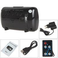 Wholesale 16GB Alarm Clock Full HD P Spy IR Night Hidden Secret Surveillance Video Camera