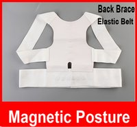 Cheap wholesale Magnetic Therapy Posture Back Shoulder Corrector Support Shoulder Brace Belt For Men Women Free shipping