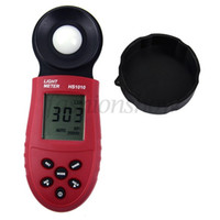 Wholesale 2015 New Lux Digital Meter Light Luxmeter Meters Luminometer Photometer Lux FC Batteries Not included T0014
