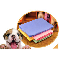 Wholesale Super Soft Hair Drying Magic Water Absorbent Cleaner Pet Dog Cat Bath Towels New