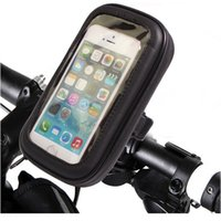 Wholesale Portable Waterproof Bicycle Phone Bags Universal Phone Case Bicycle Mount Holder Cradle for Galaxy S6 S5 S4 NOTE iPhone