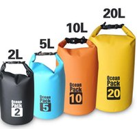 Wholesale 5L L high quality Portable Outdoor PVC Waterproof Diving Bag Travel Dry bags Rafting bag Waterproof bag