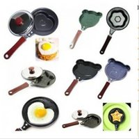 heart shape pan - 2015 New Style cooking tools pan egg tools pan Kitchen Gadgets Mini cartoon Cake tools pot love Heart Shape Egg non stick Pan LY