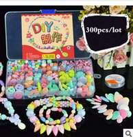 Wholesale Top quanlity new style hot sell children DIY Plastic Losse Beads candy colourful lovly DIY jewelry Tool