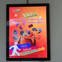 advertising sheet - Edge Lit Acrylic Sheet Magnetic LED Light Box for Advertising Display