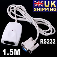 Wholesale UK Stock To UK RS232 Serial Port IrDA IR Infrared Adapter for PC UPS