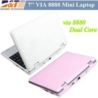 Cheap Cheap 7 inch VIA 8880 Mini Laptop 512M 4GB Ultrabook HDMI Camera WIFI RJ45 Android 4.2 Netbook Notebook Freeshipping