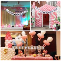 baby booth - Garland Bunting Banner Photo Booth Photography Props Prom Party Supplies Lovely BABY SHOWER Banner Garlands for Birthday Party H16149