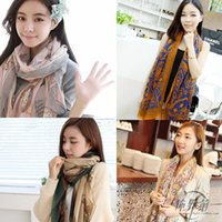 Wholesale 9209 sand towel scarf long Korean women spring all match ladies shawls factory direct batch stall
