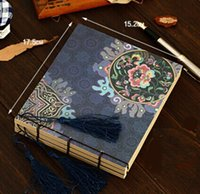 Nuevo Manual de estilo chino de la vendimia serie Totems las borlas de la flor de papel de cuaderno de Kraft / blanco Interior Páginas / libreta / nota almohadillas / al por mayor