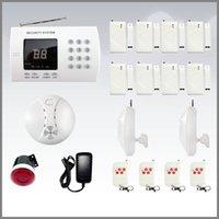 оптовых home alarm system-Дешевые 99zone домашней беспроводной охранной сигнализации с автоматическим дозвоном DHL 4 М хорошее качество бесплатно