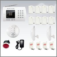 Wholesale Cheapest zone Wireless Home Security Alarm System With Auto Dialer Good Quality M DHL FREE