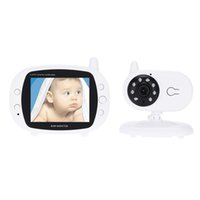 Wholesale 3 in Wireless Baby Monitor GHz with IR LED Two Way Intercome Lullabies Temperature Security Camera Surveillance order lt no track