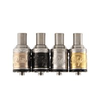 Cheap Vaporizer Mephisto V2 RDA RBA Atomizer Rebuildable Clone Dripping RDA Tank Electronic Cigarette SS Black Brass Copper DHL Free 203298