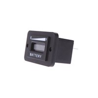 analog status - 36 Volt led battery indicator Digital LED Battery Status Charge Indicator Monitor Meter Gauge Car Replacement