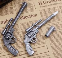 ballpoint pen gun - Roscoe fiveshooter gun Ballpoint pen cute funny kawaii pens canetas rollerball pen school supplies papelaria JIA235
