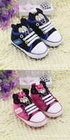 Wholesale Girls First Walker Shoes Girls Shoes Toddler Shoes Minnie Mouse Cartoon Infant Soft Falt Slip On Toddler Pink Lovely Sneakers Shoes