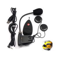 bicycle intercom - Bluetooth Motorcycle Intercom Motor Bicycle Hiking Helmet Headset Interphone For All Brand Motorcycle V2 M FM