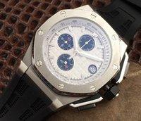 Wholesale Luxury WATCHES hot men s sports watch waterproof quartz Chronograph movement watches top luxury One year warranty
