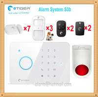 Wholesale Smart home safty guard mobile APP controlled Security alarm system GSM burglar for home office