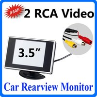 arrival color lcd - New Arrival Rotatable quot Hign Definition Color TFT LCD Car Monitor for Reverse Backup Rearview Camera DVD