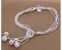 Wholesale New Design Fashion Charming Silver Plated Bracelet Bracelets Bangle