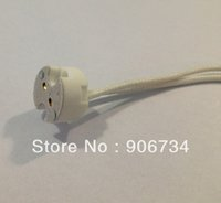 Wholesale 2013 LED Lamp With Wire Miniature Bi pin Base MR16 Socket Holder On Promotion