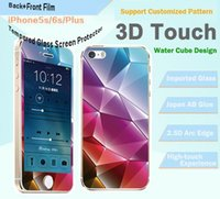 apple tech support - New Screen Protector Support D Touch Tech H Hardness D Explosion Proof Screen Film For iPhone plus Factory Promotion