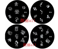 Wholesale 353PCS choose the NO mix Designs Stainless Steel Nail Art stamp Stamping Metal Plate Printing Image Plate Design Template