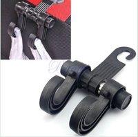 Wholesale Auto universal SUV Cargo Trunk Seat Bags Hanger Organizer Hook Headrest Holder Trunk Hanger arz99