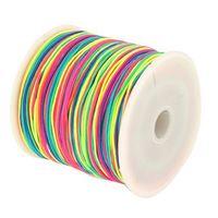 Wholesale Hot Free Hot Colors M Nylon Macrame Cords DIY Braided Bracelet Beading Threads mm