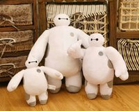 Wholesale 2015 Brand New Baymax Plush Doll of Movie Big Hero Stuffed Large Soft Baby Kids Toys For Children Christmas Gfit