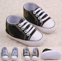 Wholesale Handsome baby shoes camouflage toddler shoes cm children shoes kids shoes soft newborn floor shoes pairs ZH