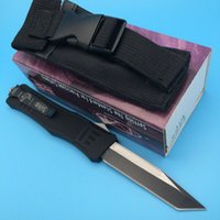 big fish bags - 4Styles Microtech A161 troodon Tanto Blade Big Eddition pocket tool hunting knife survival outdoor knife knives with nylon bag