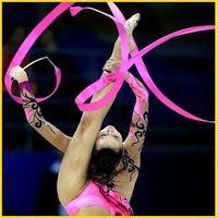 Wholesale New M Gymnastics Colored Ribbon Gym Rhythmic Art Ballet Dance Ribbon Streamer Twirling Rod Stick Multi Colors