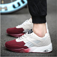 Cheap Wholesale-New arrival British Style sport shoes for men Trainers shoes breathable sneakers for men running shoes 39-44
