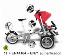 baby jogging strollers - Bike Baby Stroller Combo Free Transform multifunctional people carrier The Jogging Stroller for City Kids Car Seat Adaptor Bik