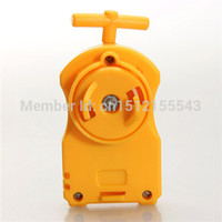 Wholesale Beyblade Metal Fusion Bey launcher Compatible High Performance Power Launcher Earthy Yellow
