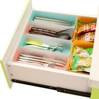 Wholesale Fashion home drawer storage box with plastic cutlery and more debris finishing glove box desktop storage box