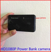 Wholesale FULL HD p Power bank camera spy camcorder mAh battey motion detection hidden security camera mini dvr