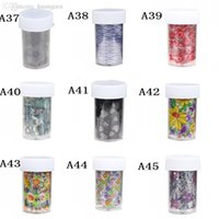 beauty health tips - Pc Colorful Nail Transfer Foil Roll Nail Tip Sticker Paper Decoration All For Nail Styling Tool Beauty Health A33