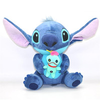 Wholesale New Stitch Lilo Plush Doll Stuffed Soft Fashion Doll Toy quot Good for Best Kids Gift