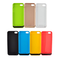 iphone 5 charger case - For iPhone C S iPhone battery case mAh Power Bank battery case Backup back extended External Battery Charger case Cases