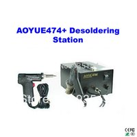 Cheap Freeshipping! AOYUE474A+ constant temperature desoldering gun   Desoldering Station 220V,soldering station
