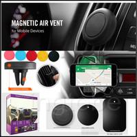 Wholesale Magnetic Universal Vehicle Car Air Vent Car Mount Bracket Holder Cupule Black for s Sumsangs6 edge plus Smart Phone Camera Recoder