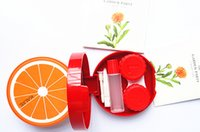 Wholesale Contact Lens Case New Sweet Fruit Series Contact Lenses Box Eyewear case Spectacle Promotional Gift