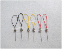 Wholesale Small Nine Word Shaped Needle Craft Pendant Clasp with lanyard Toy Doll Accessories LA0407